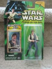 Star Wars Power of the Jedi Action Figure Han Solo Death Star Escape 2000