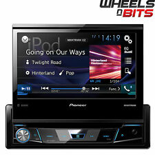 "PIONEER avh-x7800bt 7 ""Flip-out SCREEN CD DVD Bluetooth stereo auto iPhone iPod"