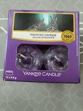 Yankee Candle Haunted Hayride Tealights 12 pk halloween