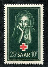 Saar B82 MNH Red Cross