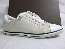 Elie Tahari EU 38 US 8 M Dream White Leather Fashion Sneakers New Womens Shoes
