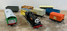 Motorized Trackmaster Thomas Friends Train Engine Boco D5702 & Douglas W/ 7 Cars