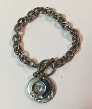 """GUESS Jeans 20th Anniversary Charm Bracelet 8"""""""
