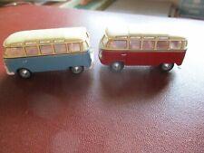 two vw combi vans