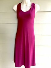 Size M Burgundy Red ISABELLA BIRD Empire Sleeveless Wst Dress Christmas Holiday