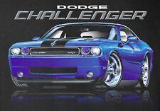 Dodge Challenger SRT T-Shirts - 2008 to 2016 - Mirrored - Mopar Muscle car