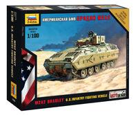 M2A2 Bradley U.S. Infantry Fighting Vehicle Scale 1/100(Zvezda)