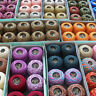 Multicolor Tinted 50 Grs 100% Mercerized Crochet Thread Set of 2 Cotton Balls