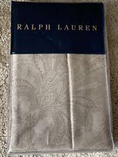 Ralph Lauren Sham/ Pillowcase, Doncaster/ Paisley, Cotton Sateen