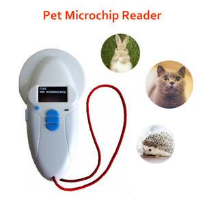 Animal Pet Chip Scanner Reader ISO FDX-B 134.2kHz 125KHz USB Digital