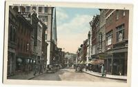 Postcard North Street Middletown NY