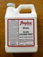 Angelus White Acrylic Leather Paint 32oz