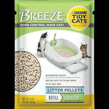 New listing Purina Tidy Cats Breeze Cat Litter Non-Clumping Enhanced Pellets Refill 3.5 lbs