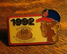 Cleveland Indians Stadium Lapel Pin - Vintage 1992 Sunoco 60th Anniversary Badge