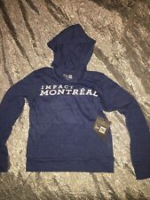 Montreal Impact Boys Hoodie New Era Fanatics Size 6-6X