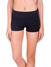 Kalon Clothing Athletic Lightweight Shorty Shorts Black Juniors Small