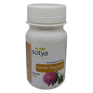 CARDO MARIANO  - 100, 200, 300 o 500 Comprimidos 500 mg. - SOTYA