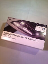 BMW LED INTERNI LAMPADINA Pacchetto Set Originale 10