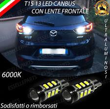 LAMPADE RETROMARCIA 13 LED T15 W16W CANBUS PER MAZDA CX-3 6000K NO ERROR