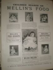 Children Reared on Mellin's Food advert June 1892 ref AU