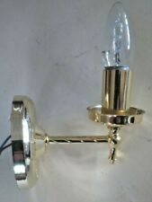 Brass Effect Wall Light