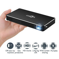 TOUMEI C800S Mini HD 1080P DLP Projector 2.4G 5G Dual WiFi Home Theater Cinema