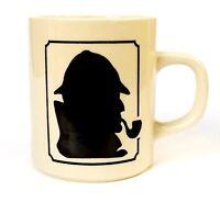 Coffee Mug Sherlock Holmes Tea Java Beverage Cup Drinking Ceramic 8oz 227ml