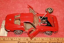 Franklin Mint & Precision Models 1963 Red Chevrolet Sting Ray Corvette Car Issue