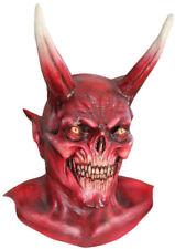 The Red Horned Devil Adult Halloween Costume Mask