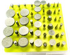 """50pc Diamond Burr Rotatif Outil Set 1/8"""" Tige pour dremmel etc 120 Grit HB197"""