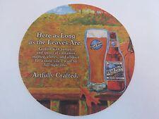 Beer Bar Pub Coaster >< Blue Moon Brewing Company >< Keith Villa - Founder 1995