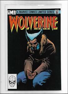 WOLVERINE #3 1982 NEAR MINT- 9.2 5502
