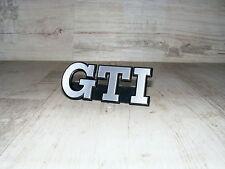 Emblem Schriftzug Kühlergrill Grill Grillemblem VW Golf 2 GTI Edition One Blue