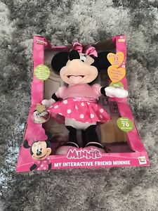 IMC Toys Disney Junior My Interactive Friend Minnie Mouse Teddy Age 3 Years +