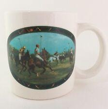 Ralph Lauren 1978 Equestrian Polo Match Ltd Edition Rare Coffee Mug Cup