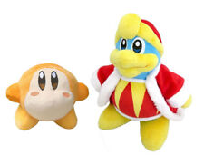 2PCS Nintendo Kirby King DeDeDe and Waddle Dee Plush Toy Stuffed Soft Doll