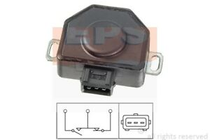Sensor Drosselklappenstellung EPS 1.995.079 für RENAULT VOLVO E30 BMW 340 360 21