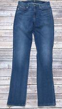 Seven 7 For All Mankind Karah Jeans Size 27 Slim Straight Leg High Rise