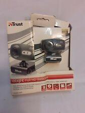 Trust eLight Full HD 1080p Webcam  LED Lights & Microphone