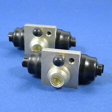 2 Radbremszylinder Hinterachse L/R Bremsanlage 20,6mm, VW Caddy II Kasten Alu