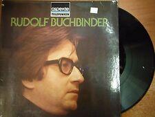 33 RPM Vinyl Rudolf Buchbinder Klaviersonate Nr 62 Telefunken Stereo  051215SM
