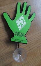 Seltene Wackelhand WINKY Kfz Deko Werder Bremen Vereinswappen f. Heckscheibe