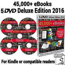 2017 eBook Collection Over 45,000 Titles on 5 DVDs + Kindle, PC & Mac Software