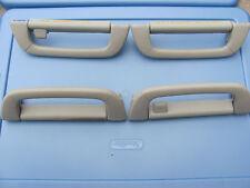 MERCEDES-BENZ W220 S430 S500 S600 4 PC GRAB HANDLES GRAY 2001 02 03 04 05 06
