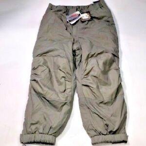 GEN III Level 7 Pants Large Regular ECWCS Grey Primaloft Cold Weather Trousers