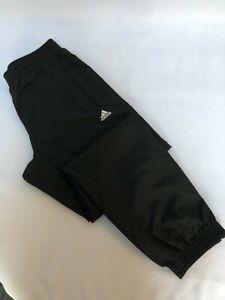 ADIDAS Koray Mens 3 Stripe Woven Pant Black Brand New Size 30