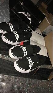 Metallica Vans Slip On X2 Pairs Size 9