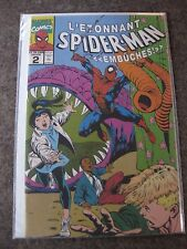 VERY RARE L'ÉTONNANT SPIDER-MAN NO 2 EMBUCHES FRENCH (AMAZING SPIDER- MAN)