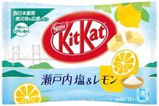 Nestle Kitkat Kit kat Japan Salt & Lemon 1Bag (11pieces) Japanese Free Shipping