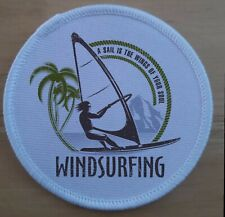Wind Surfing Surfer Patch Badge badges patches
